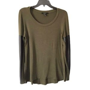 Free Forever 21 scoop neck Long sleeves t-shirt